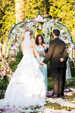 Ponte Vedra, Florida, Garden Wedding Arch