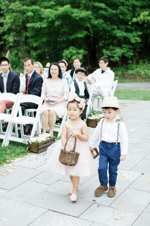 Glam Flower Girl, Casual Ring Bearer Processional