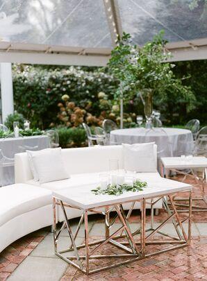 Modern, Geometric Lounge Table