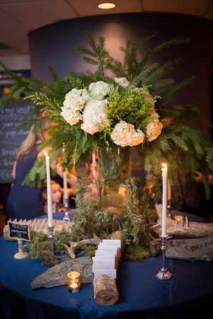 Miami Lakes, Florida, Forest-Inspired Escort Card Display