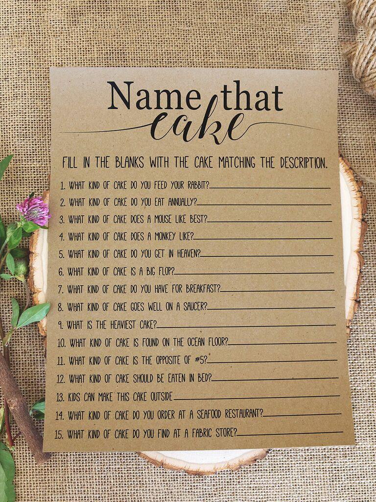 Wedding Reception Games.15 Printable Wedding Games Everyone Will Love
