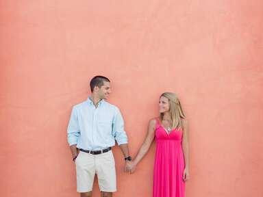 Couple honeymoon photoshoot
