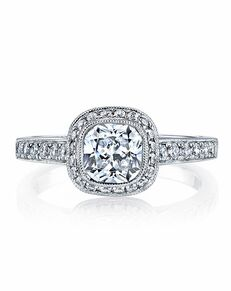 MARS Fine Jewelry Cushion Cut Engagement Ring