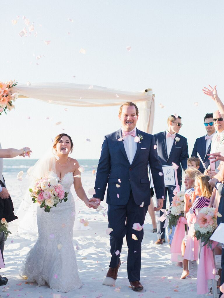 Wedding venue in Clearwater Beach, Florida.