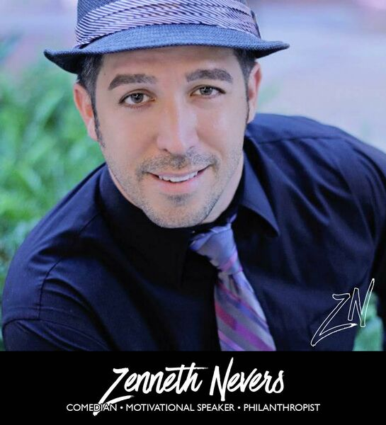 Zenneth Nevers Comedian/Motivational Speaker - Clean Comedian - Las Vegas, NV