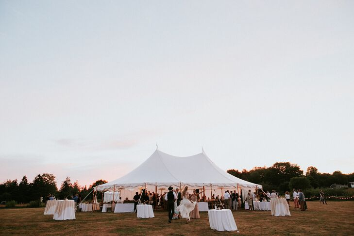 Tented Reception at The Lookout