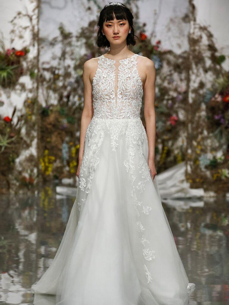 Morilee by Madeline Gardner Spring 2020 lace wedding dress