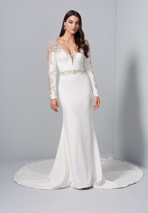 Lucia by Allison Webb 92007 GRETA Sheath Wedding Dress