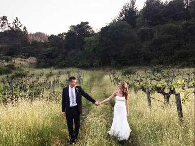 A Romantic Wine Country Wedding