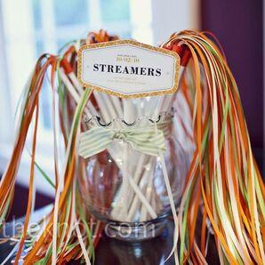 Wedding Exit Streamers