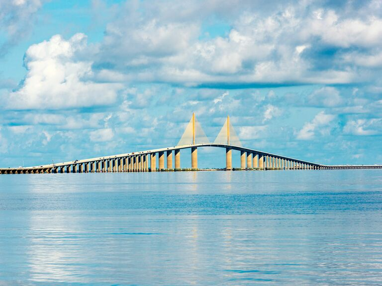 Tampa Florida bridge