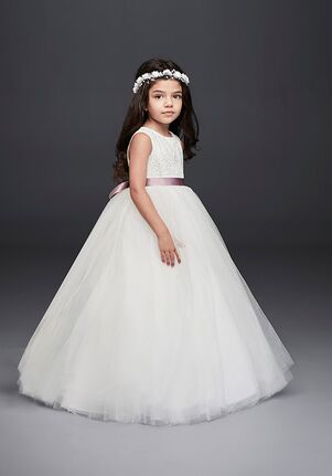 80393396f5 David s Bridal Flower Girl. David s Bridal Style RK1368