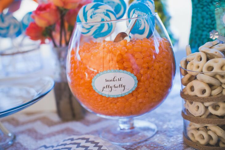 In addition to pie, dessert included anything on the candy bar, an assortment of sweets displayed in glass containers and homemade goods.