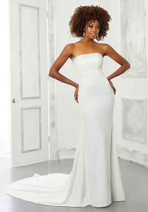 Morilee by Madeline Gardner/Blu Barbie Sheath Wedding Dress