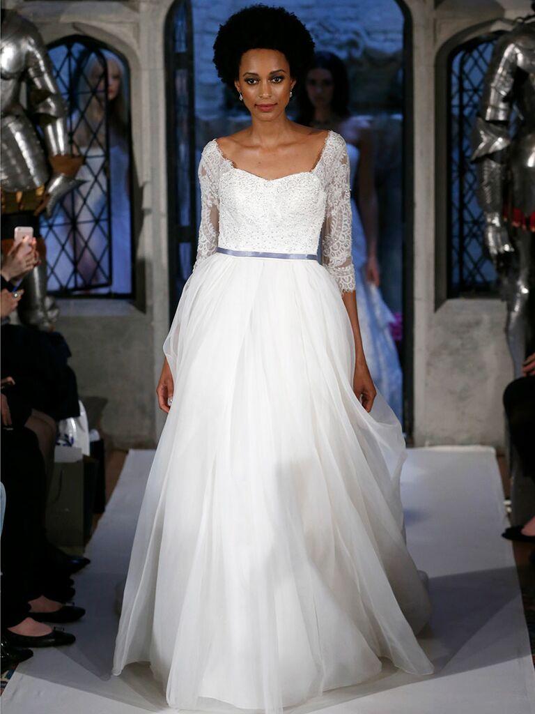Oleg Cassini Spring 2018 Collection: Bridal Fashion Week Photos