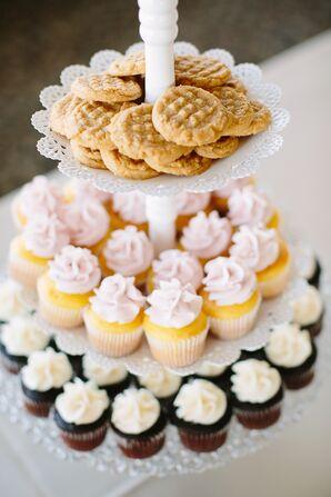 White Three-Tier Dessert Platter
