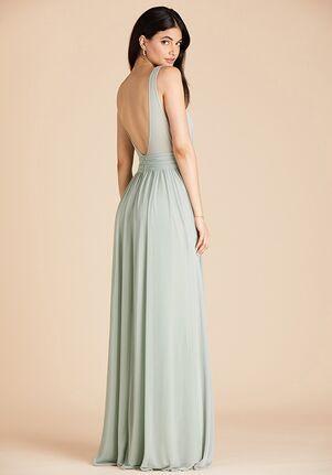Birdy Grey Jan Dress in Sage Scoop Bridesmaid Dress
