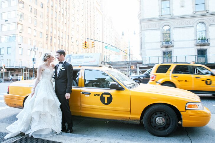 """This theatrical couple love the grandeur of New York City. In fact, it was Katie Weidmaier's (24 and an actor) favorite movie, """"Breakfast at Tiffany's"""