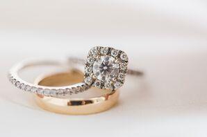 Simple, Elegant Wedding Band and Ring