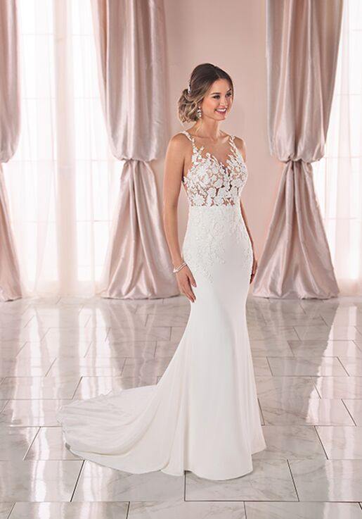 Stella York 6895 A-Line Wedding Dress