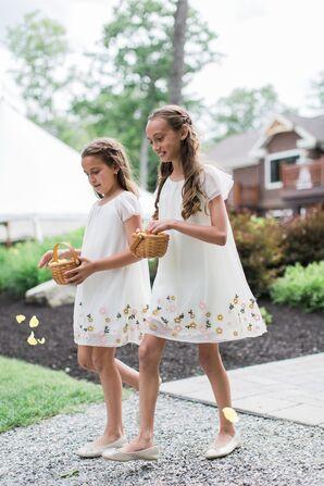 Zara Floral Tulle Bridesmaid Dresses