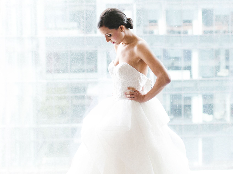 strapless wedding dress ball gown with sweetheart neckline