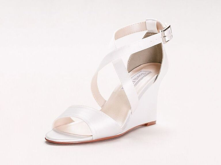 Touch Ups Jenna dyeable wedge sandals