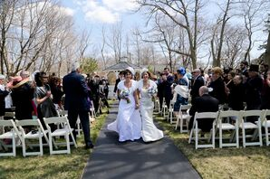 Jules and Linda Recessional from Nahant, Massachusetts Ceremony
