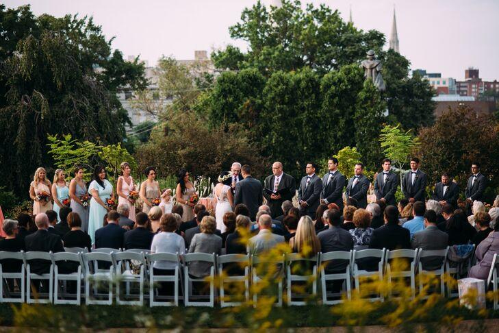 Wedding Ceremony at Outdoor Garden