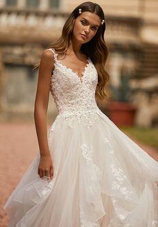 Moonlight Couture H1465 A-Line Wedding Dress
