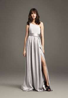 White by Vera Wang Collection White by Vera Wang Style VW360215 One Shoulder Bridesmaid Dress