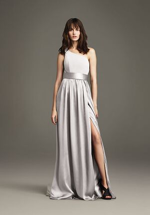 d5975b553c70 White by Vera Wang Collection White by Vera Wang Style VW360215 One Shoulder  Bridesmaid Dress