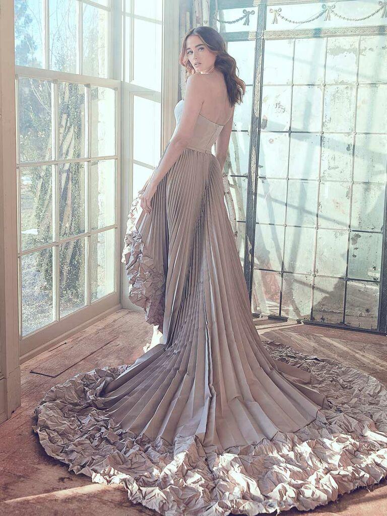Sareh Nouri Spring 2019 Collection Bridal Fashion Week Photos