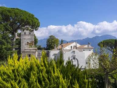 Hotel Villa Cimbrone in Ravello, Italy.