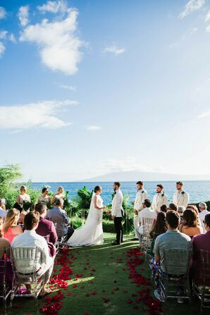 Waterfront Ceremony at Sheraton Maui Resort and Spa in Hawaii