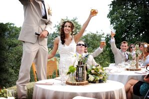 Bride and Groom Reception Toast