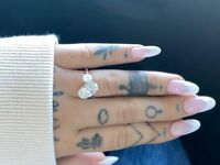 Ariana Grande two stone engagement ring