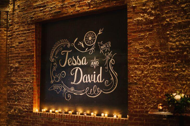 Tessa and David's Warehouse-Chic Reception