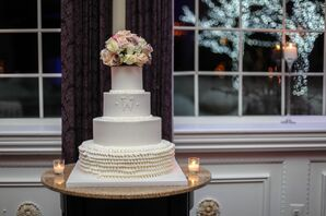 Ivory Wedding Cake at Viennese Hour