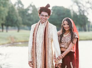 Neha (27 and the founder and CEO of Little Journey) and Pinak (28 and an entrepreneur) had an elaborate, weekend-long Hindu celebration in Chicago, Il