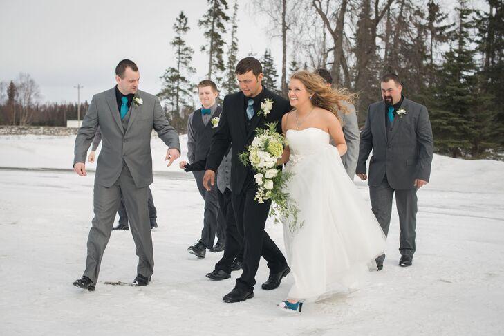DIY Wedding Party Transportation