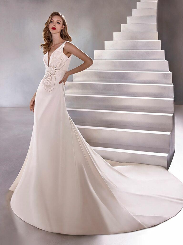 Atelier Provonias wedding dress convertable a-line dress