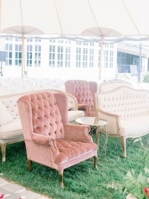 Couches and Chairs as Ceremony Seating