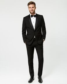 LE CHÂTEAU Wedding Boutique Tuxedos MENSWEAR_359927_010 Black Tuxedo