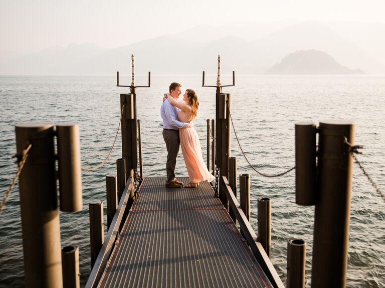 Italy anniversary photo idea