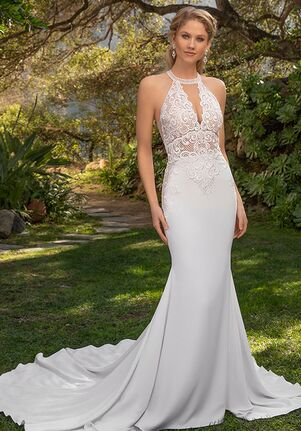 Beloved by Casablanca Bridal BL302 Veronica Sheath Wedding Dress