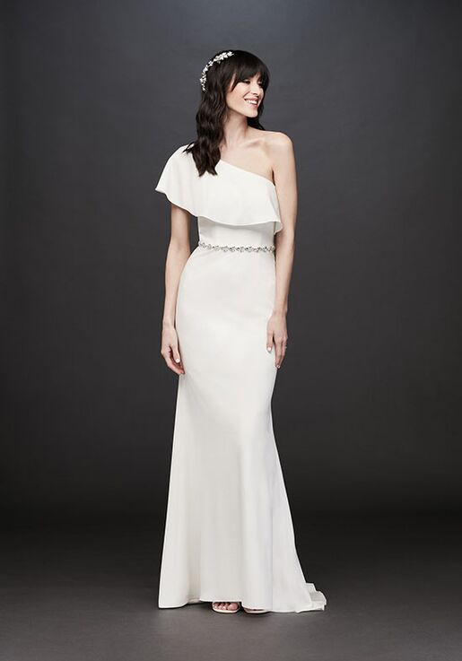 David's Bridal DB STUDIO Style SDWG0752 Sheath Wedding Dress