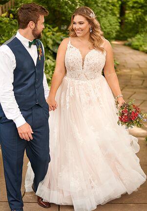 Essense of Australia D2893+ Ball Gown Wedding Dress