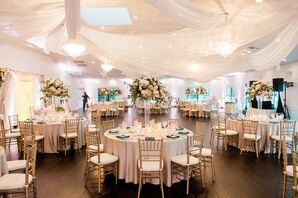 Reception with Draping and Chiavari Chairs at the Royal Crest Room in St. Cloud, Florida