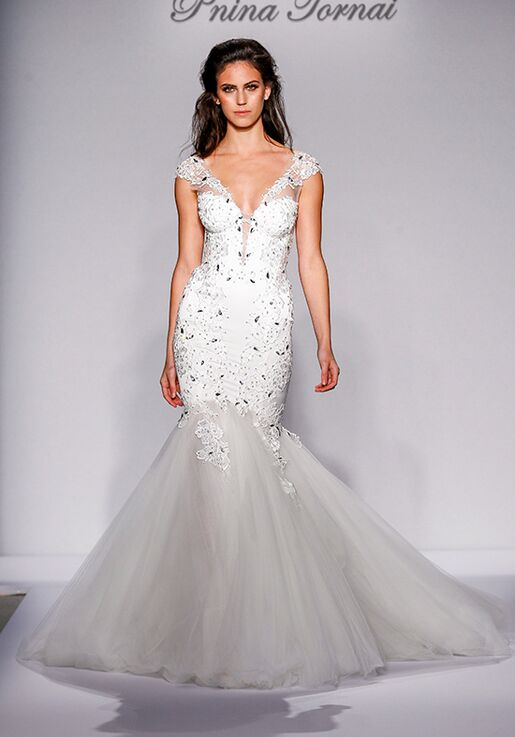 4f55690162a Pnina Tornai for Kleinfeld 4455 Wedding Dress - The Knot